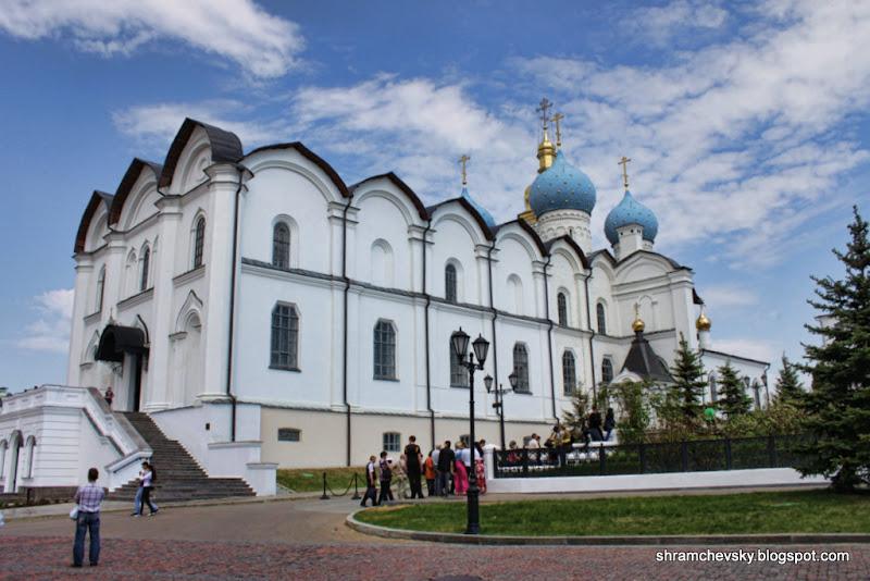 Russia Tatarstan Kazan Kremlin Annunciation Cathedral Россия Татарстан Казань Кремль Благовещенский собор