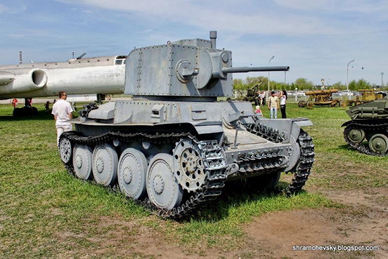 Czech Tank PzKpfw 38t Чешский Танк PzKpfw 38t Технический Музей Тольятти