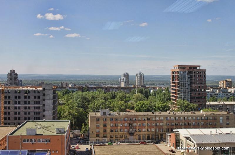 Самара Вид Скала Холл Волга Ладья