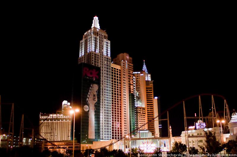 США Америка Невада Лас Вегас Казино Отель Стрип Нью Йорк