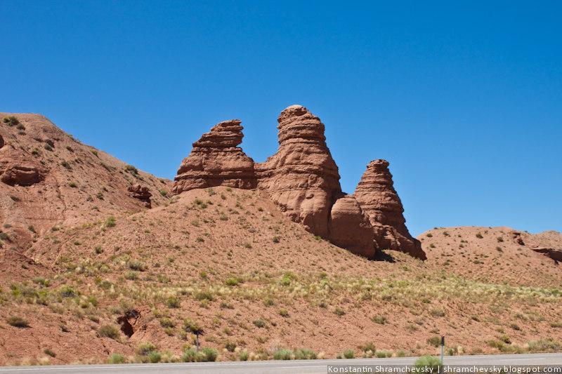 США Аризона Скалы
