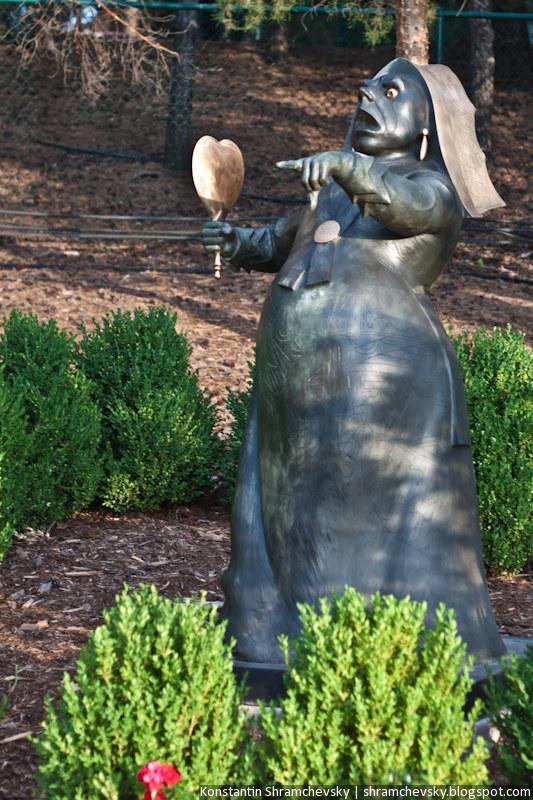 США Колорадо Денвер Энглвуд Самсон Парк Дама Червей Алиса в Стране Чудес Зазеркалье