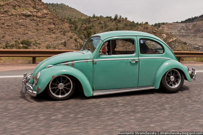 VW Beetle Tuned Фольксваген Жук Тюнинг Прокачанный