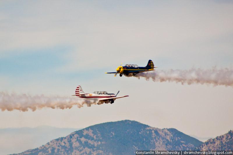 США Колорадо Пилотажная Группа Красные Звезды Як-52 Авиашоу