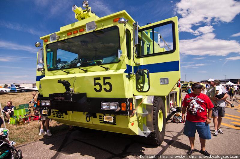 Аэропортная Пожарная Машина Airport Fire Car