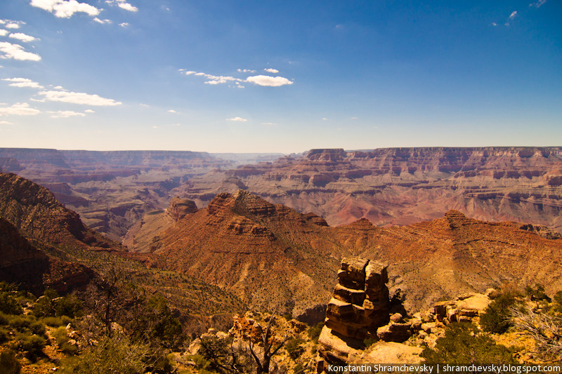 USA Arizona Grand Canyon Rocks США Аризона Гранд Каньон Скалы