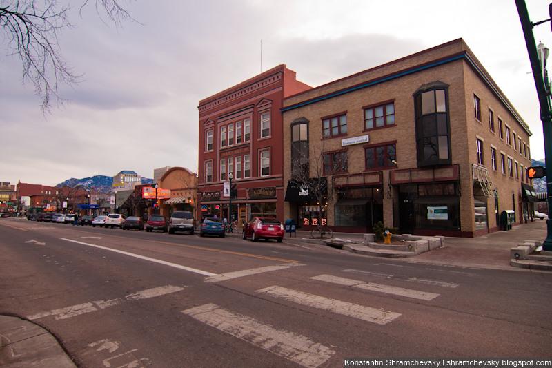 USA Colorado Springs США Колорадо Спрингс