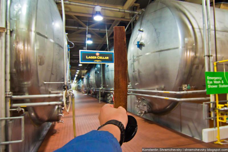 USA Colorado Fort Collins Budweiser Brewery США Колорадо Форт Коллинз Бадвайзер Будвайзер Пивзавод