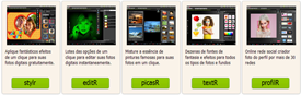 flauntR - aplicações