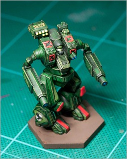 BattleTech Loki - Clan Jade Falcon