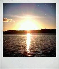 Sunset Boat 4