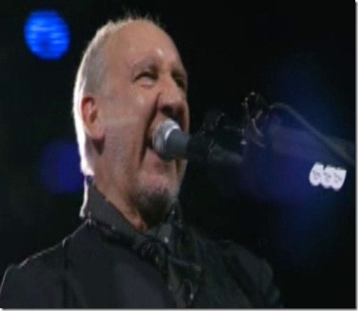 pete townshend in indy