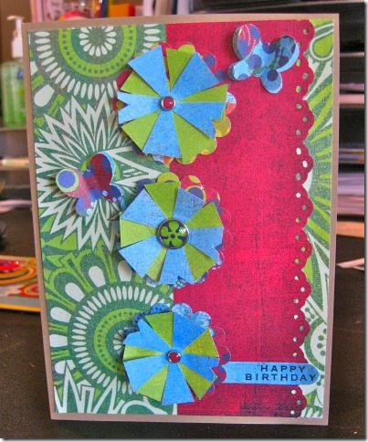 June Bug Birthday card