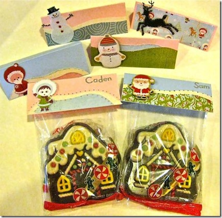 Christmas TreatBagToppers
