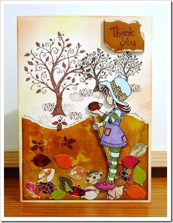 101024 Thanks card B1010
