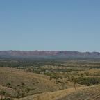 Vor langer Zeit landete hier in Meteorit.