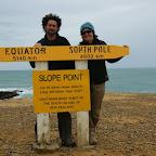 Höchstwahrscheinlich der südlichste und weitest entfernte Punkt unserer Reise. Ab jetzt kommen wir dem zu Hause nur noch näher.