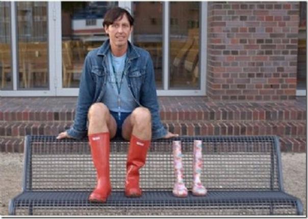 Botas de borracha para homens (5)