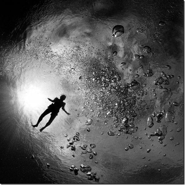 Fotografias em preto e branco do oceano (13)