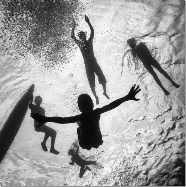 Fotografias em preto e branco do oceano (12)