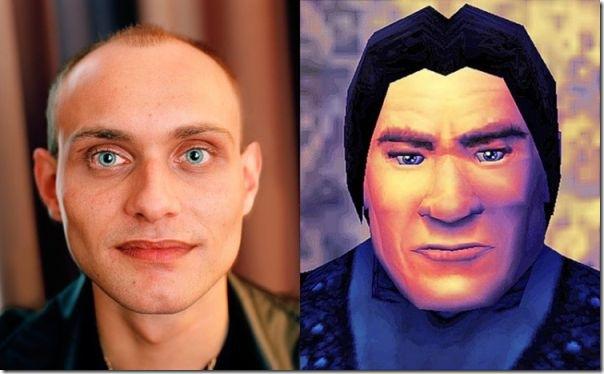 Pessoas reais vs Personagens de games (7)