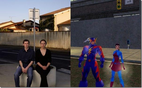 Pessoas reais vs Personagens de games (1)