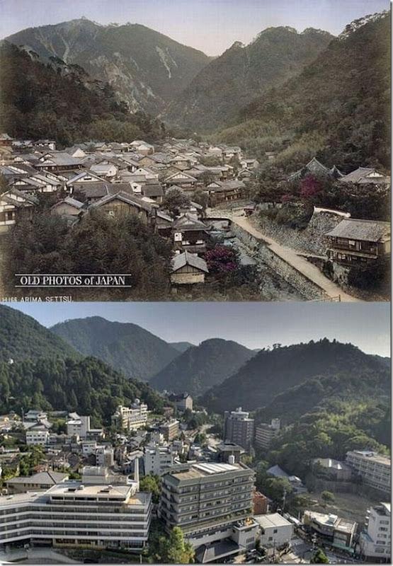 Fotos do Japão antes e depois (9)