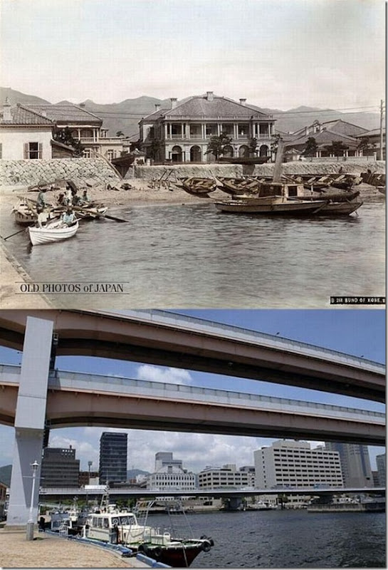 Fotos do Japão antes e depois