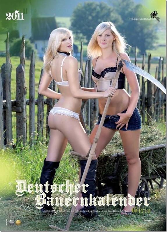 Sexy calendario das garotas do campo na Alemanha (1)