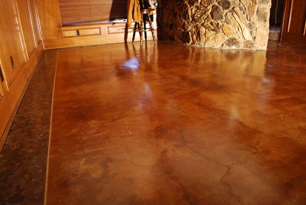 Acid Staining Esr Decorative Concrete Experts