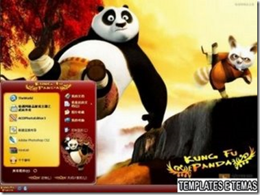image thumb1 Download   Tema Kung Fu Panda para win xp