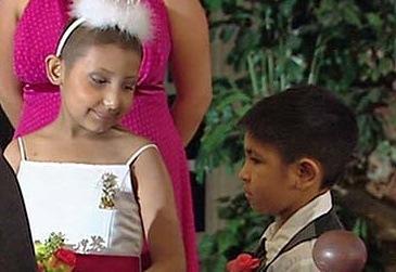 Jayla Cooper 9-year-old bride