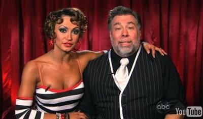 Steve Wozniak Karina Smirnoff @ DWTS 8 Week 2 Results Night