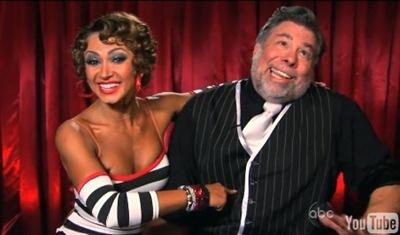 Steve Wozniak Karina Smirnoff Ridiculed After DWTS 8 Week 2 Results Announced