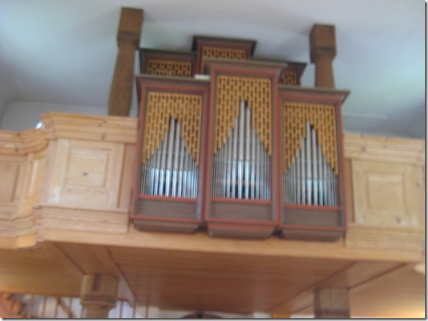 Organ loft Schmiedrued chruch 187
