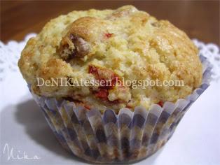 muffins de bayas del goji y nueces