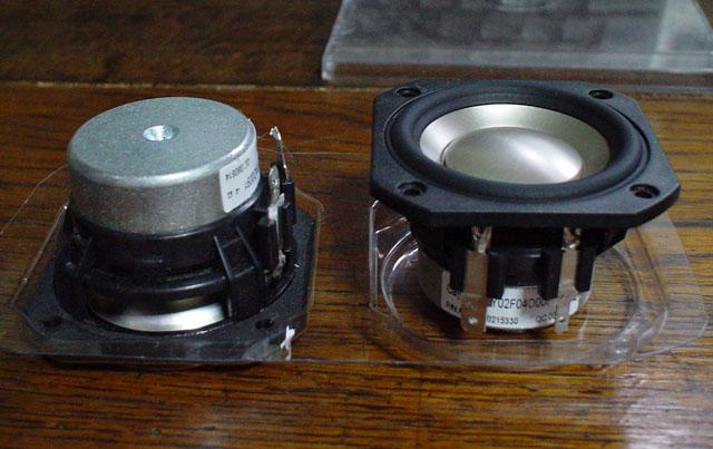 Peerless P830983 メタルコーン5cmフルレンジ