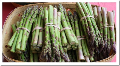 asparagus organic