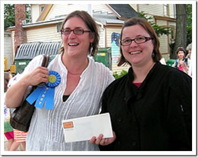peas contest winner corrine jacobson