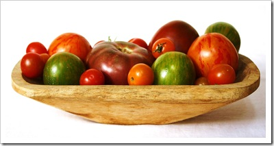 heirloom tomatoes from four winds farm