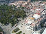 Depuis la tour de Mexico City