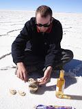 Séance foie gras avec sel naturel SVP