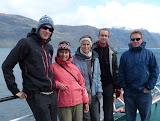 Martin, Céline, Paula, Ronan et Bob