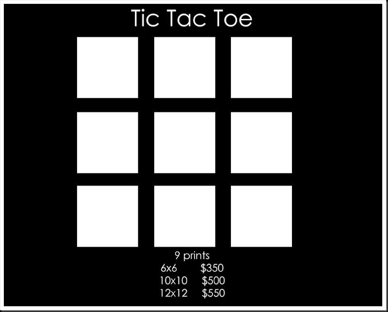 Pink Daffodil Cluster Tic tac toe copy