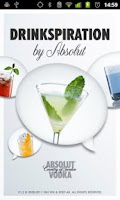Screenshot of Drinkspiration by ABSOLUT