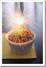 cupcakes sparkling