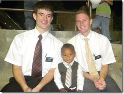 David, Elder Wardlow, and Brandon