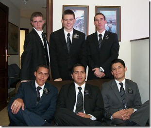 Elders Oliverson, Arrington, French, Gonzales, Huaman, Vasquez