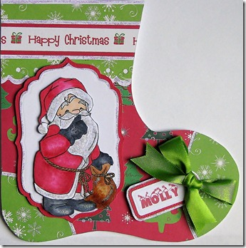 Card No. 088 - Molly's Christmas Stocking 001