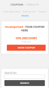 CLEVELAND COUPONS - screenshot